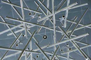 Buckminster Fuller - Sixty-Strut Tensegrity Sphere