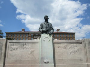 William Dempster Hoard Statue