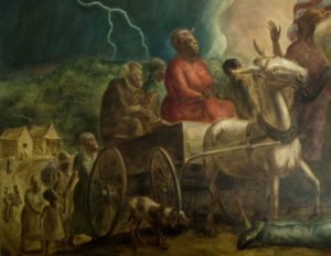 John Steuart Curry - Freeing of the Slaves