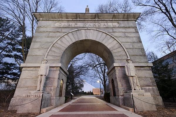 Lew F. Porter - Camp Randall Memorial Arch