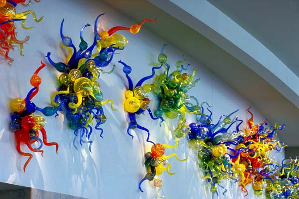 Dale Chihuly - The Mendota Wall