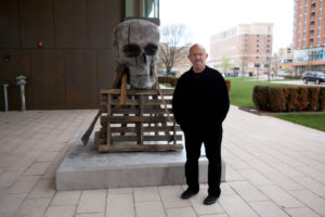 Jim Dine and Statue